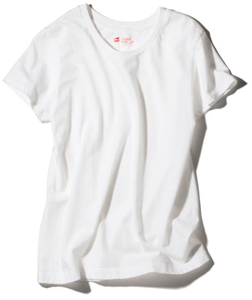 【1】ヘインズの白Tシャツ