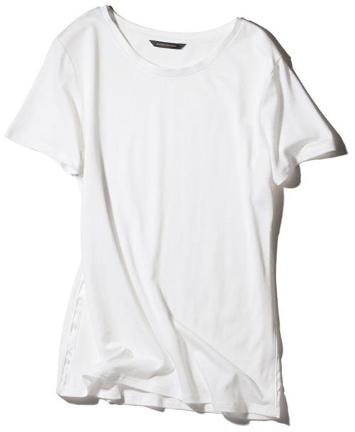 バナナ・リパブリック×白Tシャツ