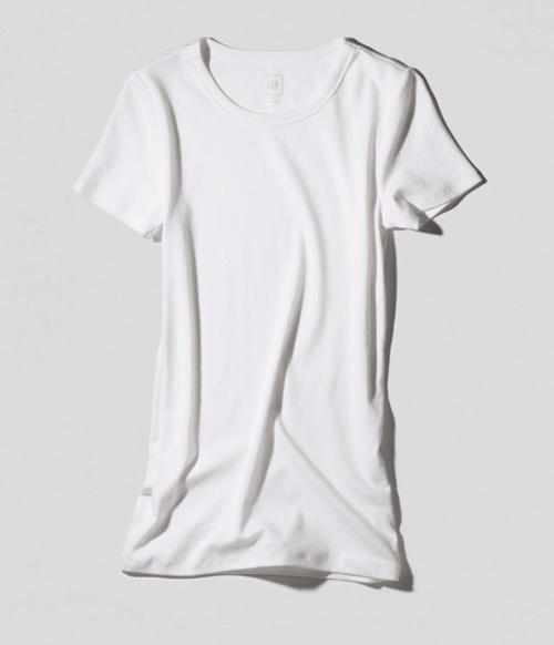 白Tシャツ・ブランド:GAP