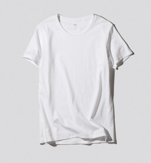 白Tシャツ・ブランド:ユニクロ