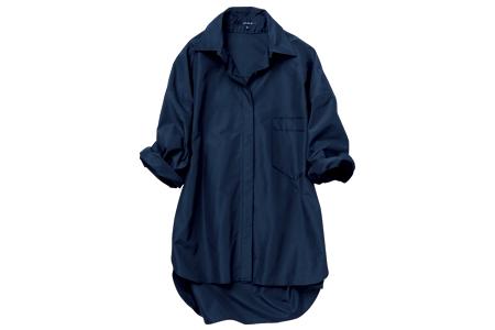 ルーニィの黒のUVカット加工のシャツ