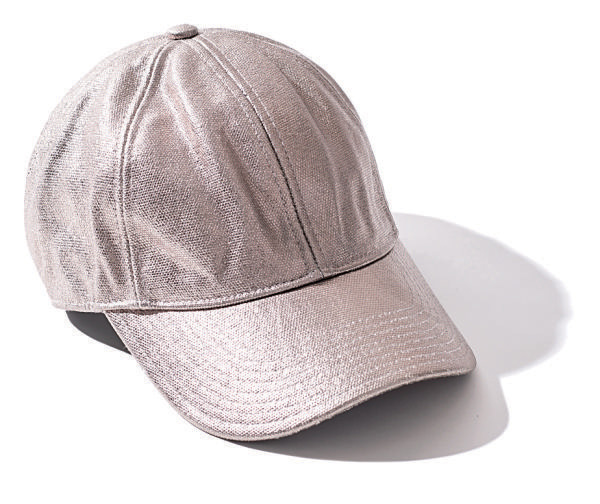 【1】【帽子種類】シルバーキャップ