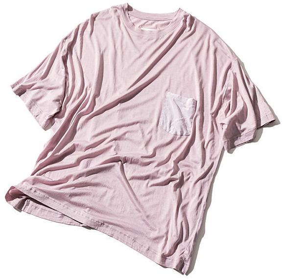Maison Margiela ピンクのビッグTシャツ