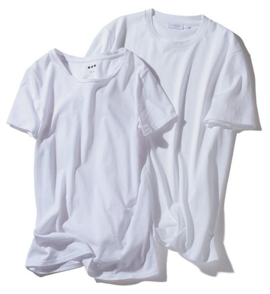 【スリードッツ】【サンスペル】の白Tシャツ
