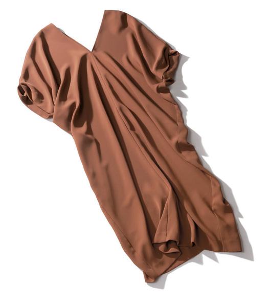 ワンピース 種類:Liesseのブラウンワンピース