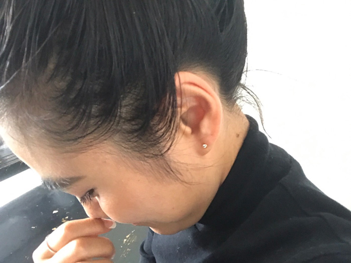 separation shoes 906c2 47f84 スタイリスト金子綾のIt…|Tiffanyのひと粒ダイヤピアス | Oggi.jp