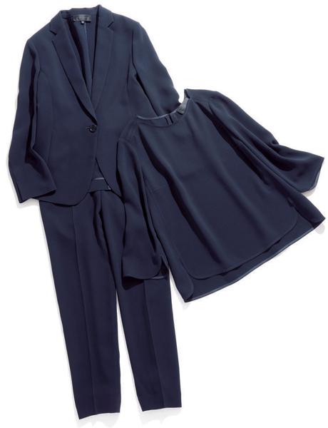 濃色スーツの場合