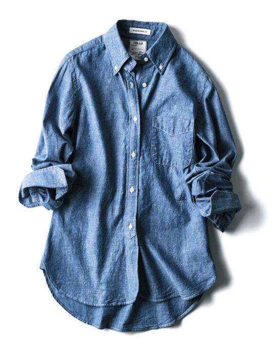 マディソンブルー×ピルグリム サーフ+サプライ×シャンブレーシャツ