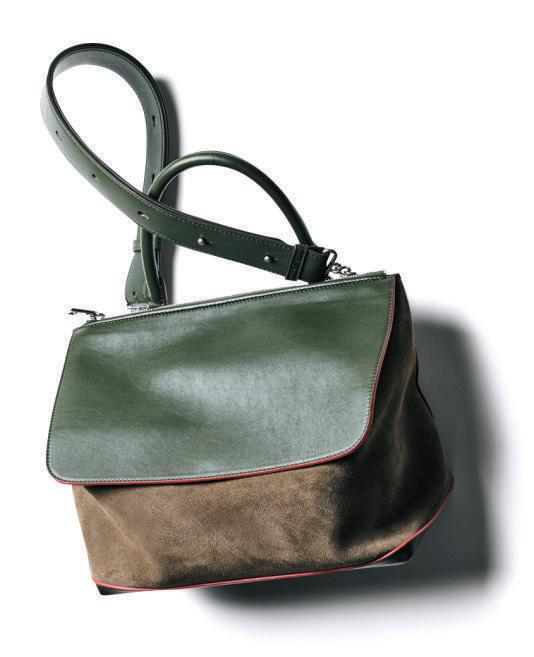 ショルダーバッグ おすすめ×ミチノのカーキワンハンドルバッグ