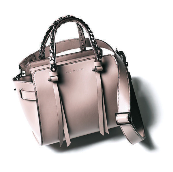 トートバッグ おすすめ×エレナ ギゼリーニのスクエアフォルムバッグ