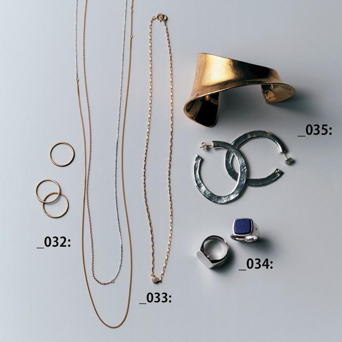ハム(hum)×一粒ダイヤモンドのネックレス