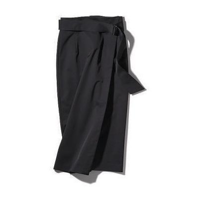 【エムプルミエ】ひざ下黒タイトスカート
