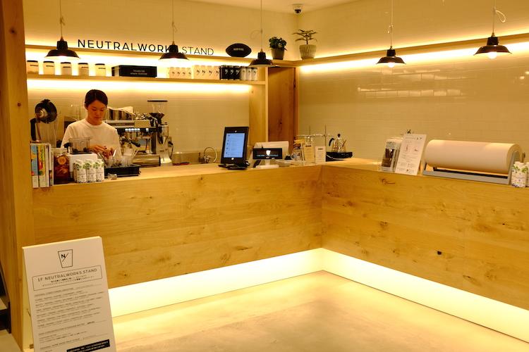 1Fカフェ