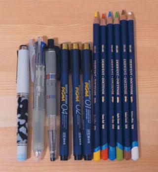 ダーウェント 水彩色鉛筆「インクテンス」