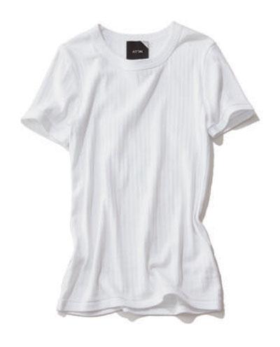 白Tシャツ・ブランド:エイトン