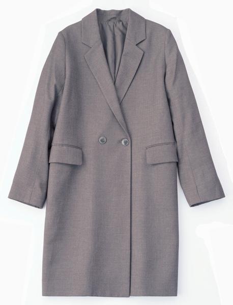 ロング丈のジャケット