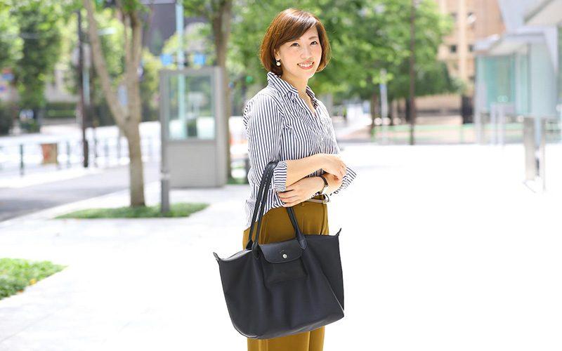 d350410b7c6c 季節の変わり目の衣替えは、通勤バッグとその中身から見直してみるのはいかが? そこで、働く美人たちがリアルに使っているバッグ&きれいを叶えるティップスを徹底  ...