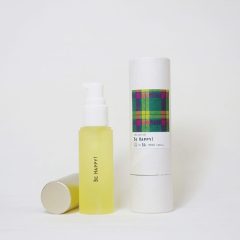 uka|hair oil「BE HAPPY!」 50ml ¥4,600