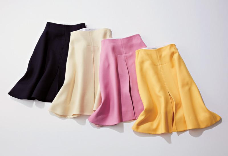 キレイ色スカート