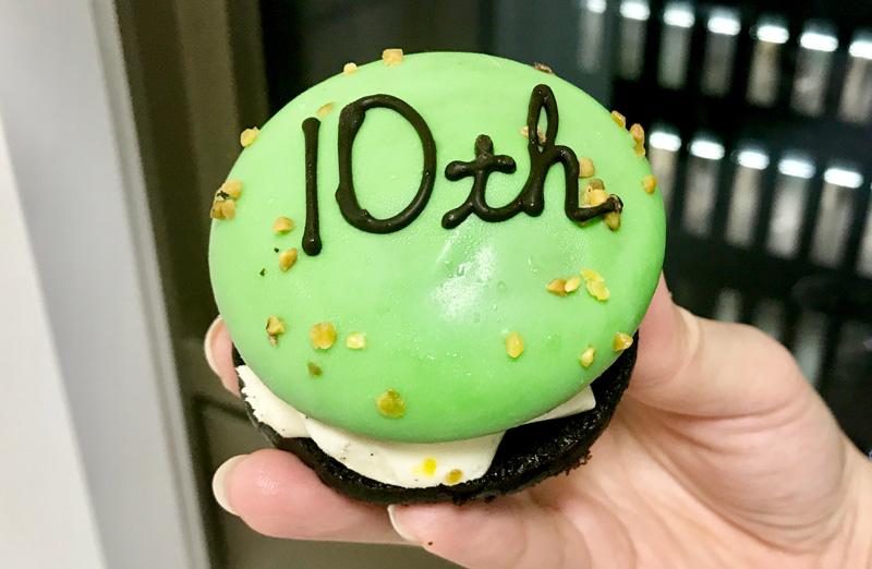 ダロワイヨ東京駅10周年限定ケーキ