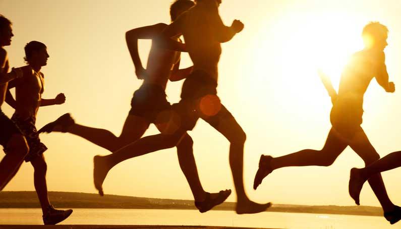 走り続ける人