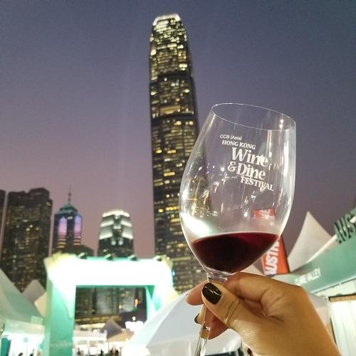 夜景×ワイン