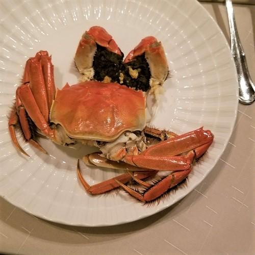 茹で上海蟹2