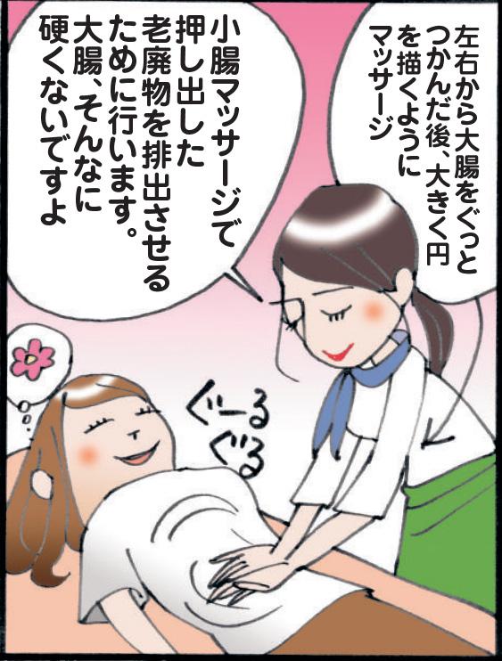 大腸マッサージ