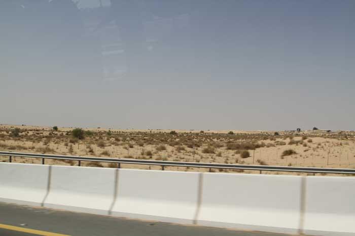 ドバイ 砂漠