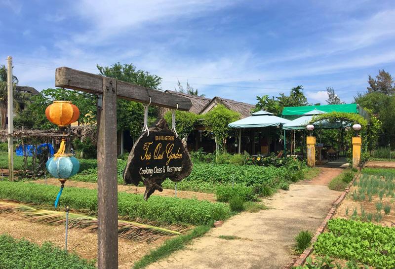 ホイアンの農場レストラン