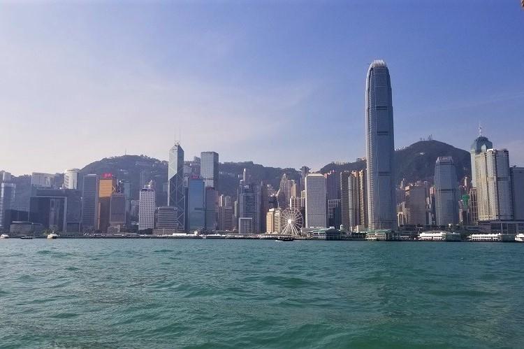 香港 昼間の景色
