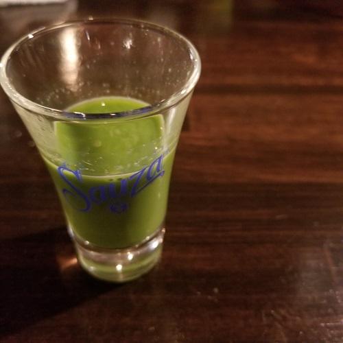 自家製の青汁