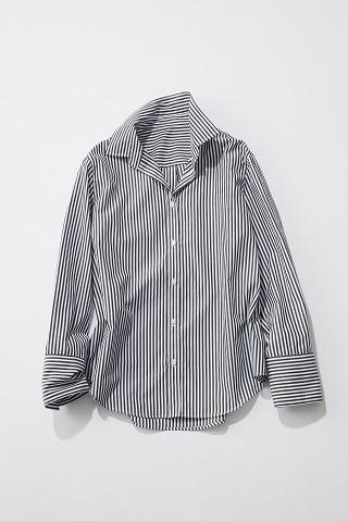 【ミラ オーウェン】ストライプシャツ