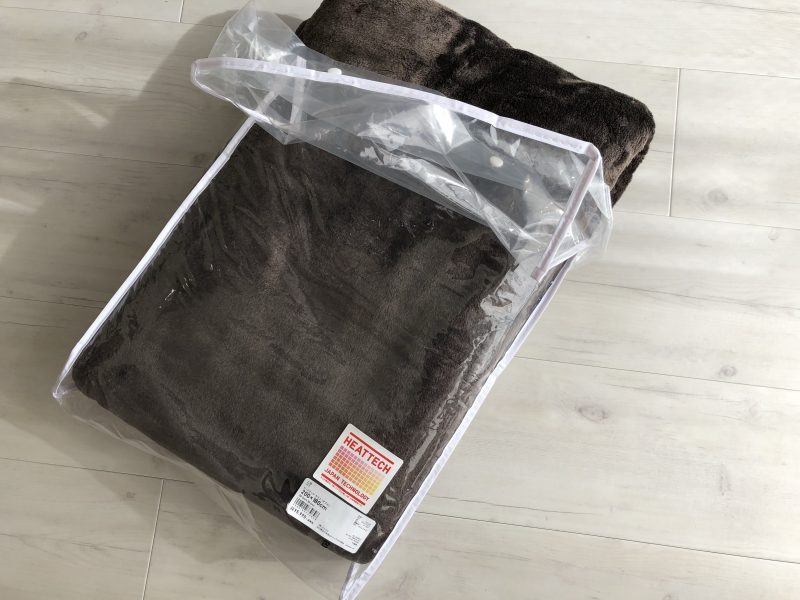 【UNIQLO】ヒートテック毛布