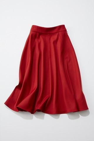 トマトレッドフレアスカート