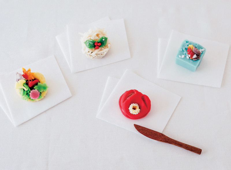 菓匠 菊家 季節の上生菓子