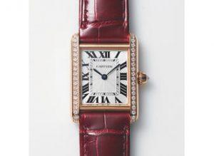 時計『タンク ルイ カルティエ』