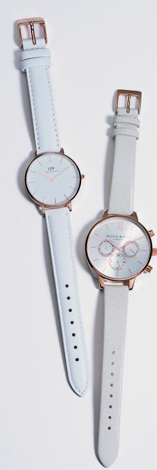 リッチホワイト時計