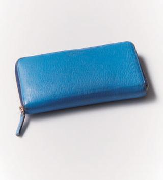 青色 財布
