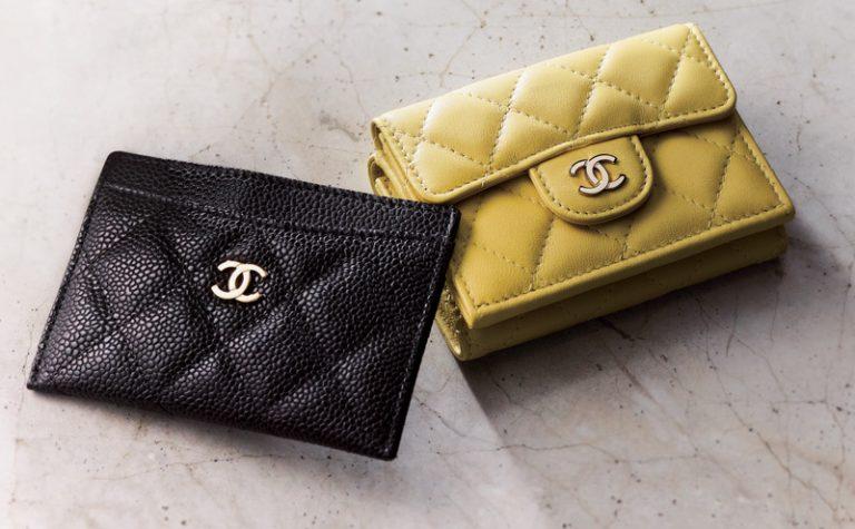黄色の財布・ブランド:シャネル