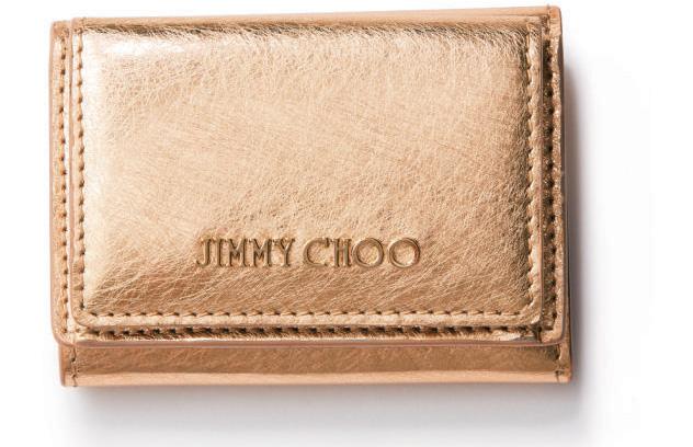 ゴールド 財布 ジミーチュウ