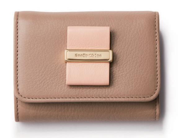 シーバイクロエ|リボンのミニ財布