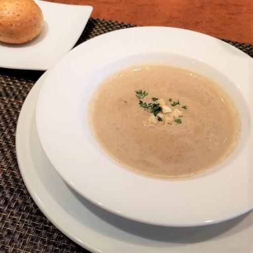 スープ ゴボウのヴルーテ