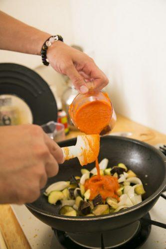 自家製,トマトソース,ヘルシー,レシピ,レスラー,YAMATO,筋肉キッチン