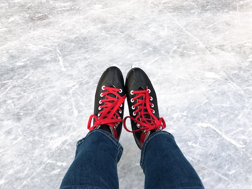 軽井沢星野スケート