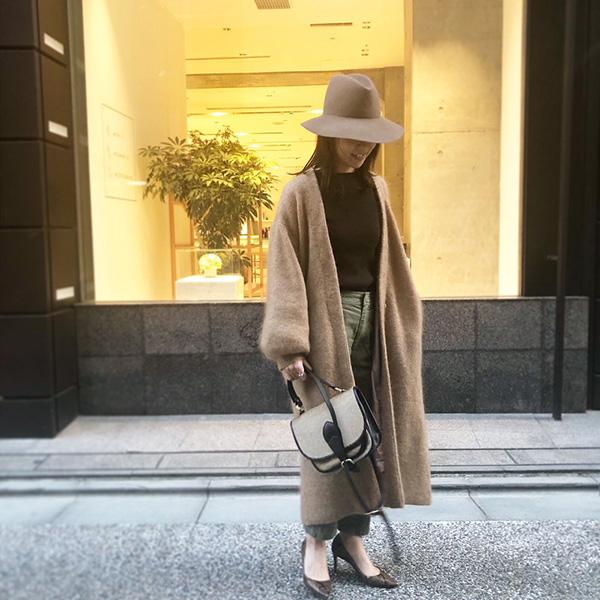 ETRÉ TOKYO ニットコート ハット