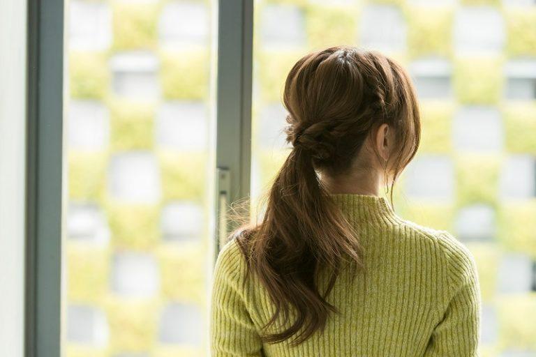 ロングヘア×ロープ編みヘアアレンジ