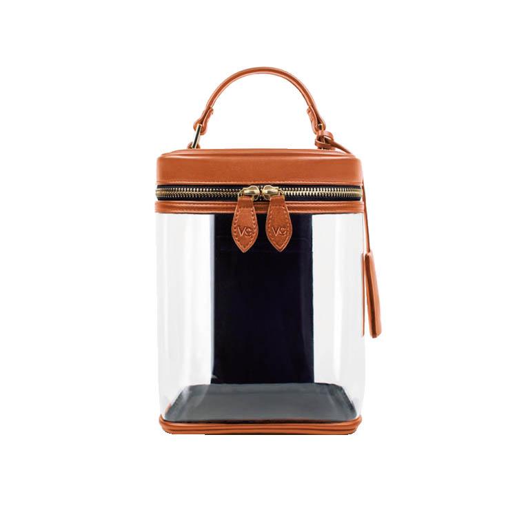 ワンハンドルバッグ:ヴァジックの異素材ミックスバッグ