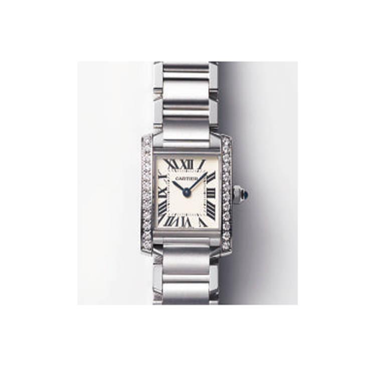 detailed look ba4e7 29ff0 カルティエ】の腕時計『タンク フランセーズ』|Oggi的名品File ...