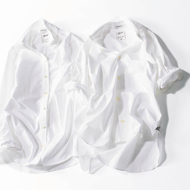 【マディソンブルー】定番人気の白シャツ